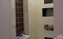 Ремонт ванной в студии на Выборгском шоссе