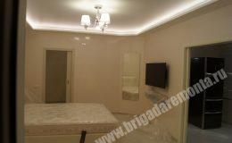 Ремонт жилих комнат в квартире на Богатырском