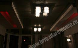 Ремонтные работы со светом в квартире на Дунайском пр.