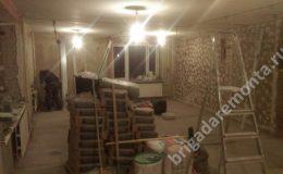 Ремонтные работы в процессе в квартире