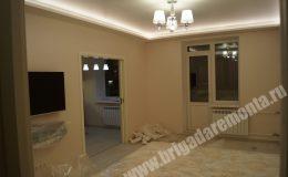 Ремонт спальни в квартире на Богатырском