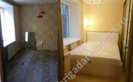 Ремонтные работы в спальне квартиры по ул. Софьи Ковалевской