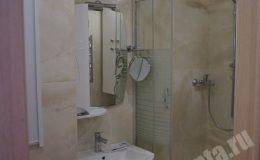 Ремонт ванной комнаты в квартире на Замшина