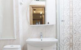 Результат от комплексной отделки ванной комнаты в квартире