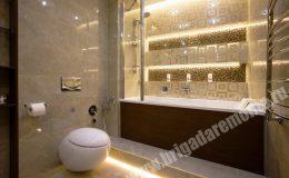 Результат ремонта ванной комнаты от Бригады Ремонта