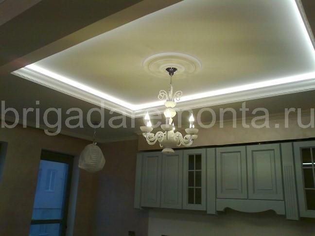 Электропроводка в квартире. LED подсветка потолка