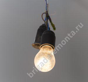 Лампочка, электропроводка