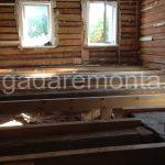 Деревянный дом, утепление дома,отделка дома,оконные проемы