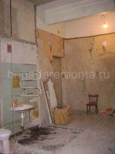 Подготовка к ремонту. Ремонт квартиры. Квартира в руинах