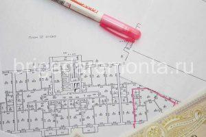 План перепланировка, разработка проекта перепланировки