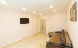 Ремонт квартиры, межкомнатная дверь, ремонт зала, светлые тона