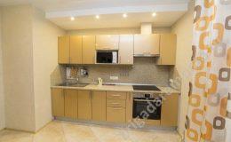 Встраиваемая кухня, точечные светильники,ремонт кухни
