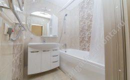 Ванная комната, установка сантехники, укладка плитки, умывальник, установка душа в ванной, монтаж натяжного поталока в ванной