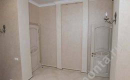 Ремонт коридора в доме,бежевый цвета,