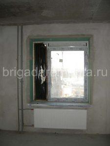 Новостройка. Грязное окно, приемка квартиры