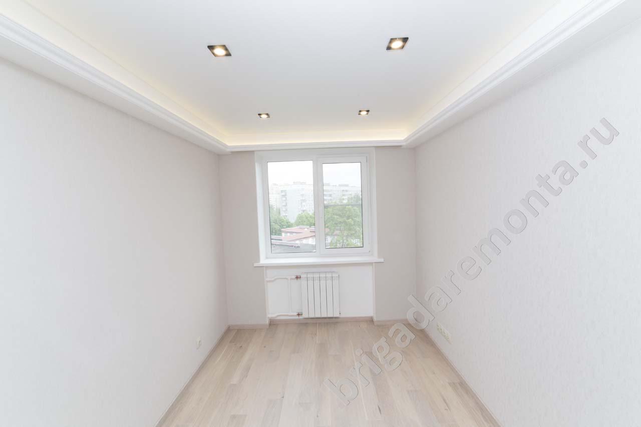 ремонт квартиры,панельный дом, натяжной потолок