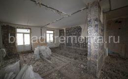 Подготовка помещения к ремонту,демонтаж, начало ремонта