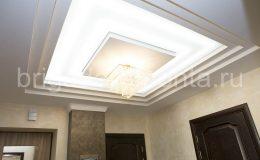 Ремонт коридора, многоуровневый потолок. сложный потолок, ремонт в сталинке