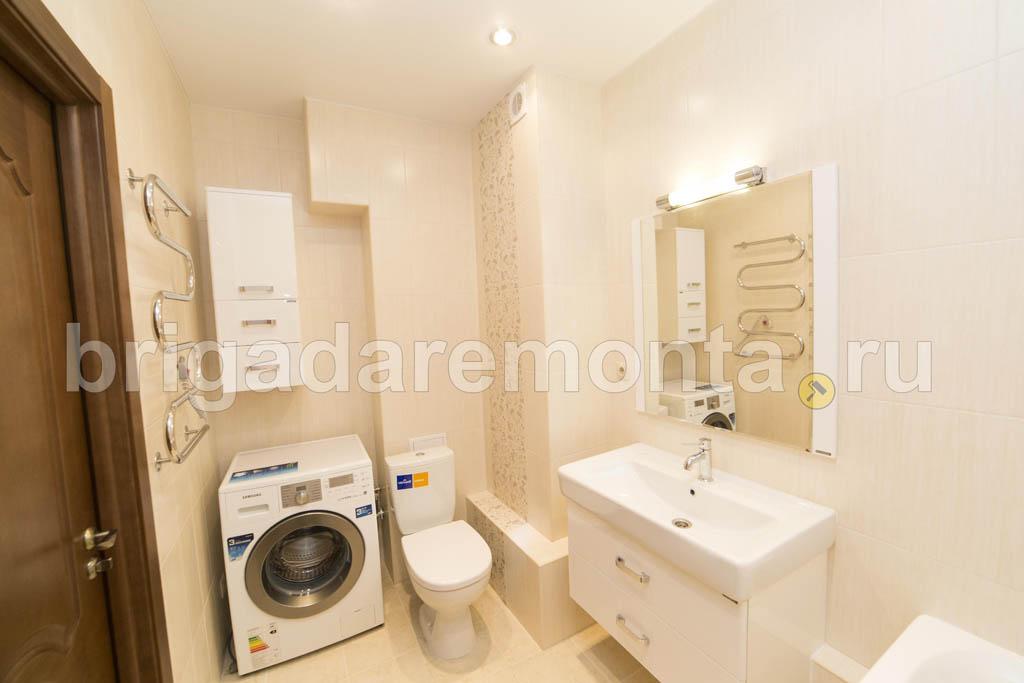 Ремонт ванной комнаты на Кременчугской