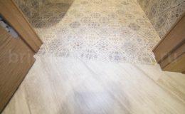 Идеальный стык ПВХ и керамической плитки. Отсутствие порогов