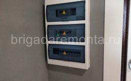 Установка и монтаж распределительного электрического щита
