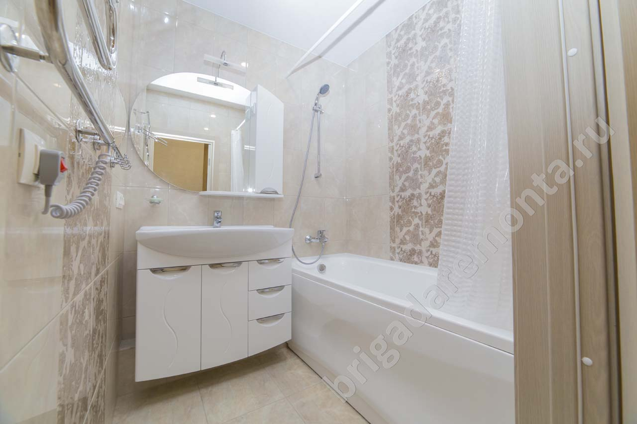 Установка сантехники в ванную
